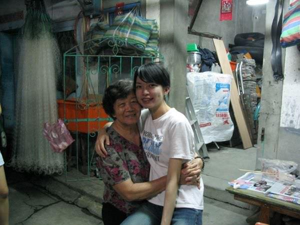 甘甘和阿婆.JPG